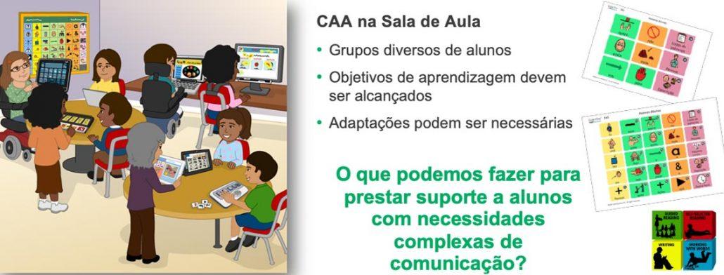CAA em sala de aula. Comunicação Alternativa em Sala de Aula